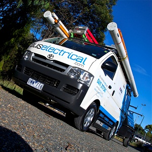 Aus Electrical van and trailer